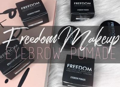 FREEDOM Makeup: Pro Brow Pomade perfect for Brown Hair. | Kayleen beauty!