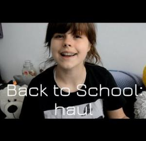 Back to school: haul