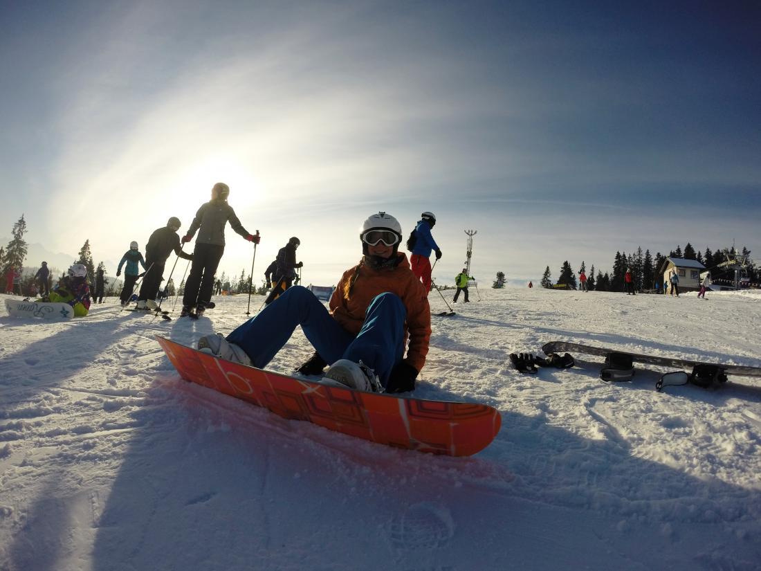 Jak aktywnie spędzać czas? cz.5 – snowboard (wideo)
