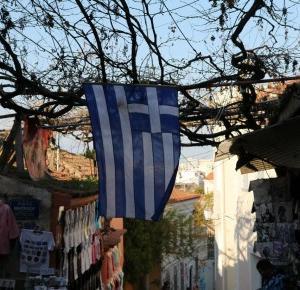 Ateny w grudniu