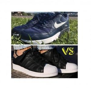 Adidas Superstar vs Nike Air Max