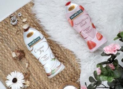 FIXATION.PL: Żele pod prysznic Palmolive Gourmet | Dwa zapachy - kokos i truskawka