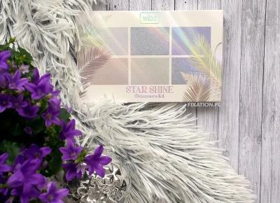 FIXATION.PL: Paletka rozświetlaczy do twarzy Wibo Star Shine | Swatche