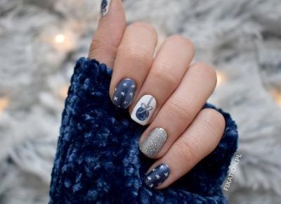 FIXATION.PL: Świąteczne paznokcie | Metaliczny lakier, bombki i śnieżynki