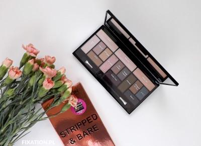 FIXATION.PL:  Paleta cieni do powiek Makeup Revolution - Stripped & Bare
