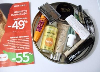 Co kupić w Rossmannie na promocji 49/55% taniej? Zakupy Ani | Dorabiaj przez Internet