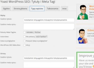 Jak skonfigurować wtyczkę Yoast SEO — WordPress Plugins? | Dorabiaj przez Internet