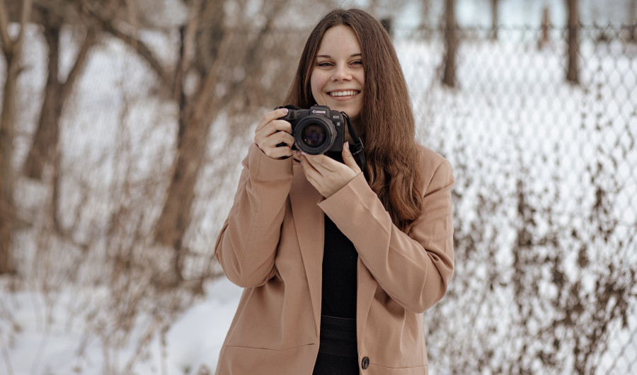 Sesja wizerunkowa fotografa