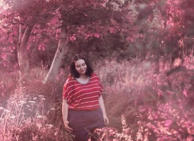 FASHION | FOREST | SERIOUS TOPIC | Plus Size | FotoHart | FotoHart