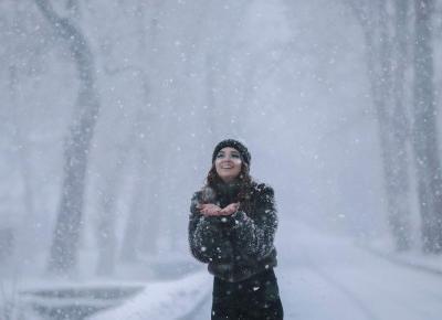 Sesja w śnieżycy z Karoliną Shmidt | FotoHart