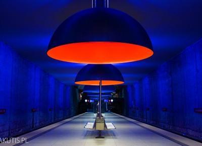Metro w Monachium - Blog podróżniczy i fotograficzny - fotografwdrodze.pl