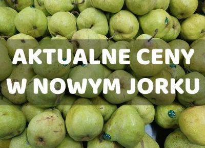 Aktualne ceny w Nowym Jorku - fotografwdrodze.pl