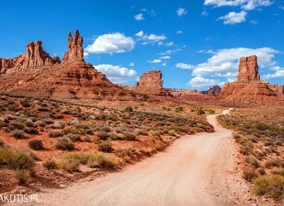 Valley of Gods - ukryty skarb Utah - fotografwdrodze.pl