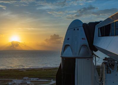 Pierwsza załogowa misja SpaceX - gdzie zobaczyć start?