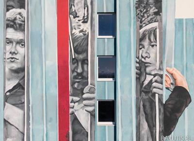 Nowy mural na Winogradach - seria solidarnościowa