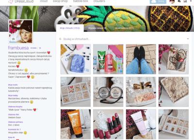 *Frambuesa-Kosmetycznie *: Magiczny świat Dresscloud i milion paczuszek ! :)