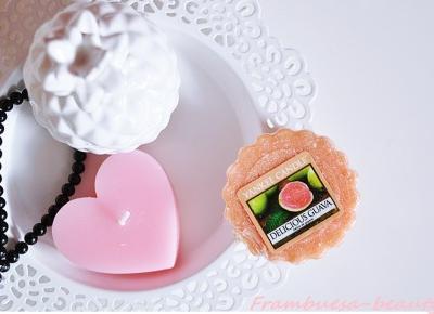 *Frambuesa-Kosmetycznie *: Yanke Candle - Delicious Guava ! :)