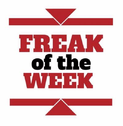 Śmiercionośna dzicz – Freak of the week