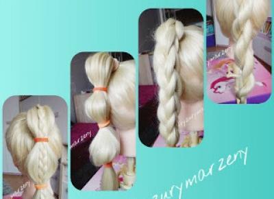 fryzurymarzeny: 4 szybkie fryzury do szkoły