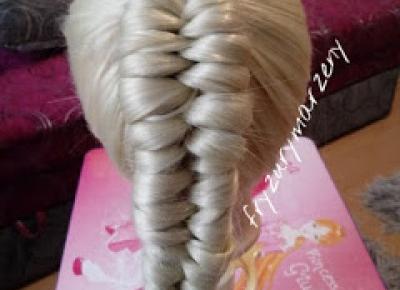 fryzurymarzeny: Warkocz infinity