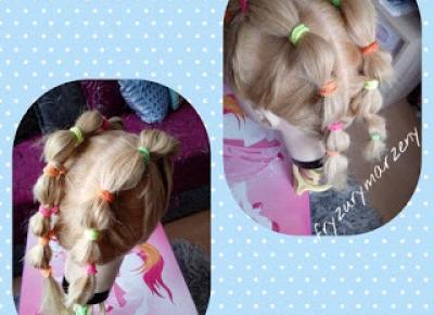 fryzurymarzeny: Fryzura do przedszkola