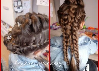 fryzurymarzeny: upięcie wieczorowe na bal andrzejkowy