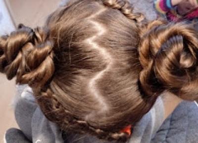 fryzurymarzeny: Fryzury dla dziewczynek coś extra :)