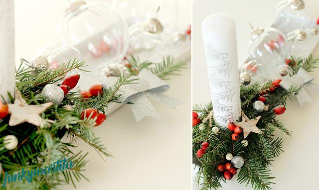 Świą…teczna dekoracja adwentowa w skandynawskim stylu - DIY