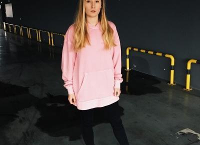 Pink hoodie - Helloxgabax