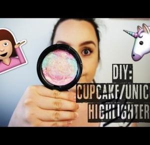 ♥DIY: UNICORN/CUPCAKE HIGHLIGHTER!GABRYSIAA♥