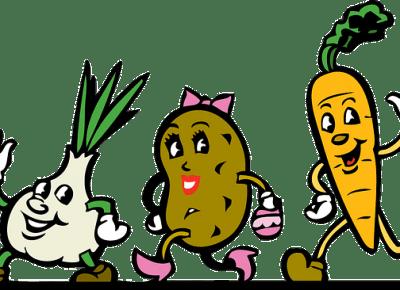 Kolor warzyw i owoców ważny przy zrównoważonej diecie!!!