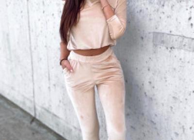 Komplet dresowy, komplet welurowy  - modne, tanie, eleganckie 2020 | butik damski | sklep z odzieżą damską