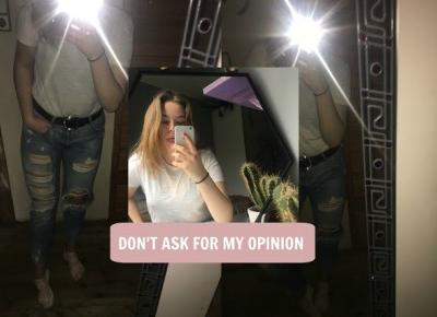 DON'T ASK FOR MY OPINION / TIPS - Zuza Boba