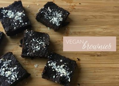 VEGAN BROWNIES - Zuza Boba