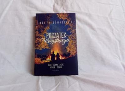 Gosia and book: [Przedpremierowo] Robyn Schneider-
