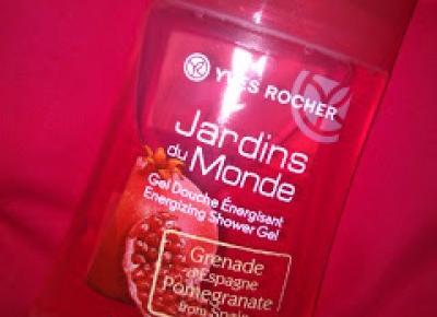 Margaret: Yves Rocher, Żel pod prysznic z Owocem granatu z Hiszpanii