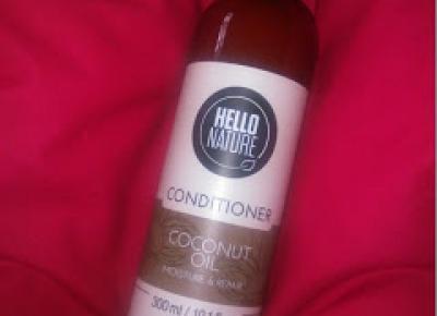 Margaret: Cece of Sweden, odżywka Hello Nature, Coconut Oil Moisture & Repair