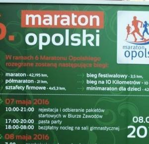 Grafnert Multiart: 6 Maraton Opolski  - dzień przed