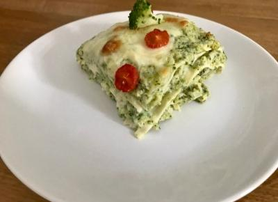 LASAGNE Z BROKUŁEM - green goodies