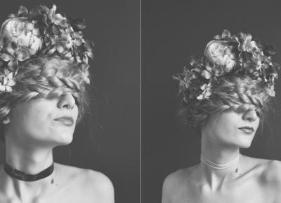 FLOWERS & HOLOGRAPHIC | 3 SESJE Z MUM - GRRRLWITHCAT