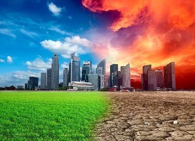 Przemyślenia niekoniecznie konstruktywne. : Globalne ocieplenie oznacza koniec?