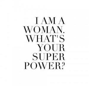otoczenie i bycie kobietą