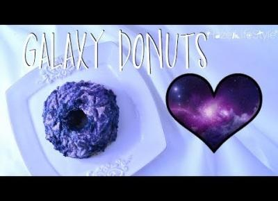 GALAXY DONUTS FOR DONUT DAY, SUPER SIMPLE AND HEALTHY| Hazel xx.