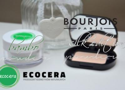 IMAGINE DAY | Sara Sycz: ecocera bamboo powder | bourjois silk edition compact powder