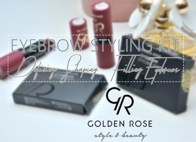 IMAGINE DAY | Sara Sycz: Golden Rose eyebrow styling kit