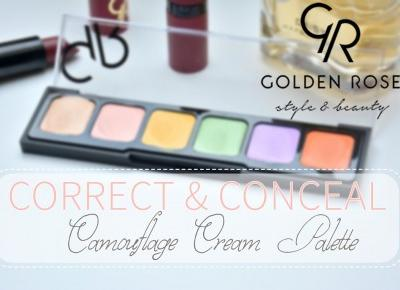 IMAGINE DAY | Sara Sycz: Golden Rose camouflage cream palette