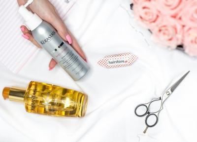 Hello Fashion | Blog lifestylowy, czyli blog o modzie, urodzie i życiu.: NOWOŚCI W PIELĘGNACJI MOICH WŁOSÓW I CERY. NOŻYCZKI FRYZJERSKIE, SPRAY NA WYPADANIE WŁOSÓW KERASTASE, MASECZKA NA PRZEBARWIENIA