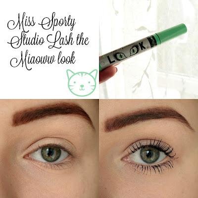 Pierwsze Wrażenie: Miss Sporty Studio Lash the Miaoww Look