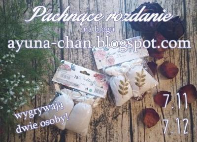 Ayuna: Rozdanie | Urodziny bloga