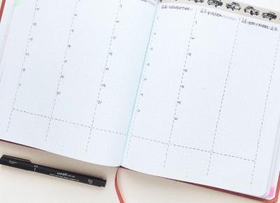 Bullet Journal na wakacje i recenzja Memo Booka